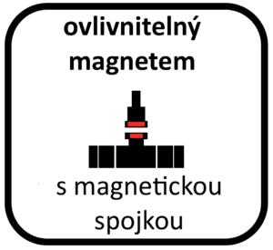 magnetická spojka u vodoměru
